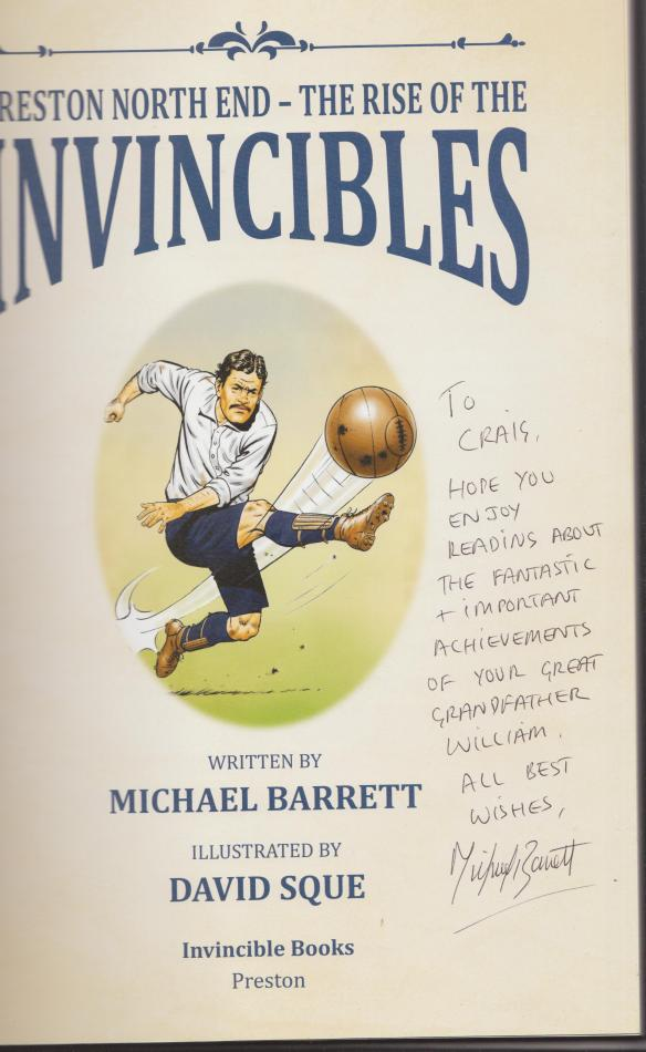 invincibles letter from Michael